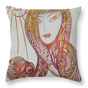 The Life Throw Pillow