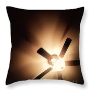 The Light Above  Throw Pillow