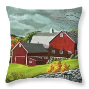 The Light After The Storm Throw Pillow
