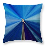 The Light Fantastic Speedway Throw Pillow