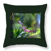 The Light In Our Bleeding Hearts Throw Pillow