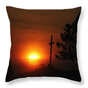 The Light In The Dark Throw Pillow