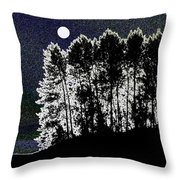 The Light Of The Moon Throw Pillow
