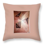 The Light Of The Peace Throw Pillow