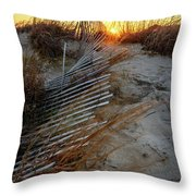 The Light On The Hill Throw Pillow
