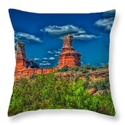 The Lighthouse Formation Throw Pillow