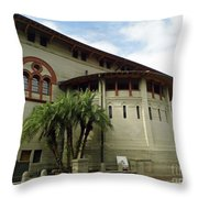The Lightner Museum Throw Pillow