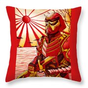 The Lights Guard Throw Pillow
