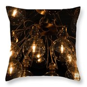 The Lights Throw Pillow