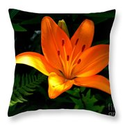 The Lily  Throw Pillow