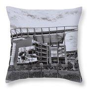 The Linc - Philadelphia Eagles Throw Pillow