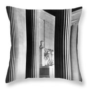 The Lincoln Memorial Throw Pillow