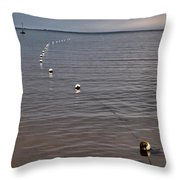 The Line Throw Pillow