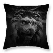 The Lion Gate Throw Pillow