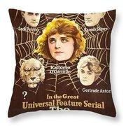 The Lion Man 1919 Throw Pillow