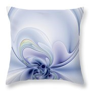 The Liquidity Of Thought Throw Pillow