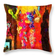 The Little Girl - Pa Throw Pillow