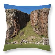 The Little Orme Throw Pillow