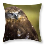 The Little Owl Throw Pillow