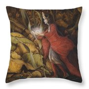 The Little Peoples' Queen Throw Pillow