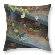 The Little Pine Cone Throw Pillow