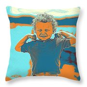 The Little Powerful Throw Pillow