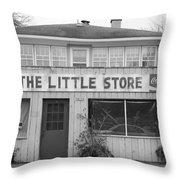 The Little Store Throw Pillow by Lauri Novak