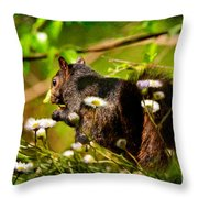 The Little Things Throw Pillow