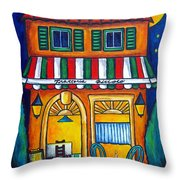 The Little Trattoria Throw Pillow