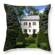 The Little White House Throw Pillow
