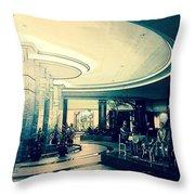 The Lobby Throw Pillow