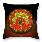 The Locked Room Throw Pillow