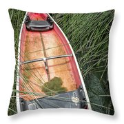 The Lodge At Blue Lakes  Throw Pillow