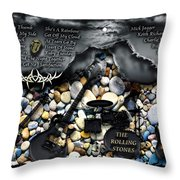 The London Years Throw Pillow