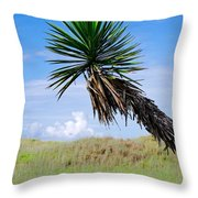 The Lone Yucca Throw Pillow