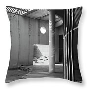 The Lonely Circle  Throw Pillow