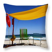 The Lonely Sea And The Sky Throw Pillow