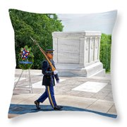 The Lonely Walk 2 Throw Pillow