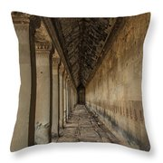 The Long Hall Throw Pillow