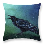The Long Night Ends Throw Pillow