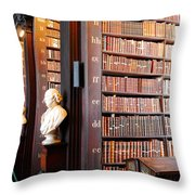 The Long Room Throw Pillow