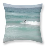 The Long Summer Throw Pillow