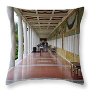 The Long Walk Throw Pillow