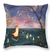 The Longest Journey. Throw Pillow
