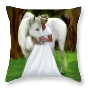 The Longing 2 Throw Pillow