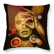 The Look Of Things Throw Pillow