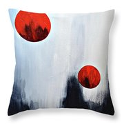 The Loss Of Innocence Throw Pillow