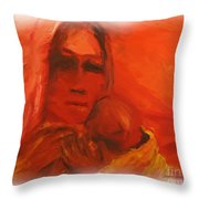 The Lost Child Throw Pillow