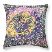 The Lost Circlism Throw Pillow