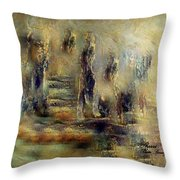 The Lost City By Sherriofpalmsprings Throw Pillow